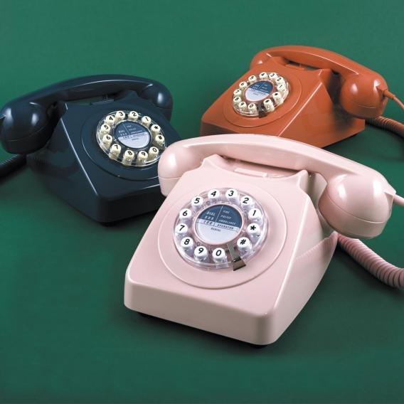 Téléphone rétro vintae 70 @bonjourbibiche