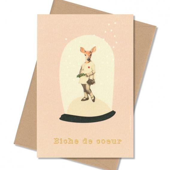 Carte postale Enfant @bonjourbibiche