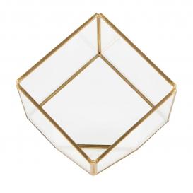 Terrarium en verre géométrique @bonjourbibiche