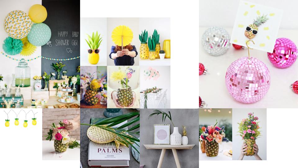 Anniversaire ananas