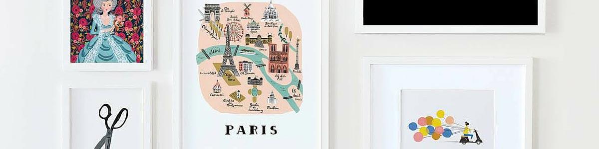 Acheter affiche decorative @bonjourbibiche
