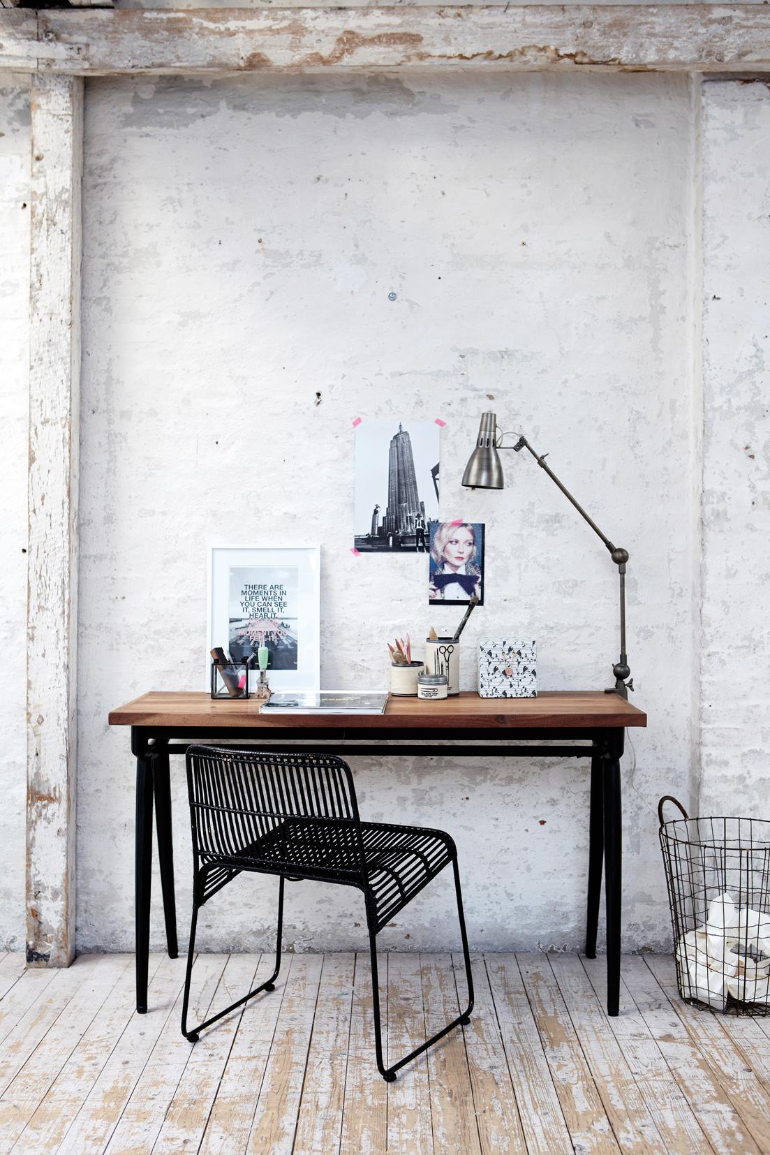 Créer un coin bureau dans le salon