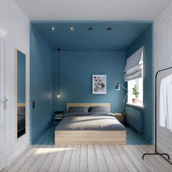 quel bleu pour une chambre. Black Bedroom Furniture Sets. Home Design Ideas