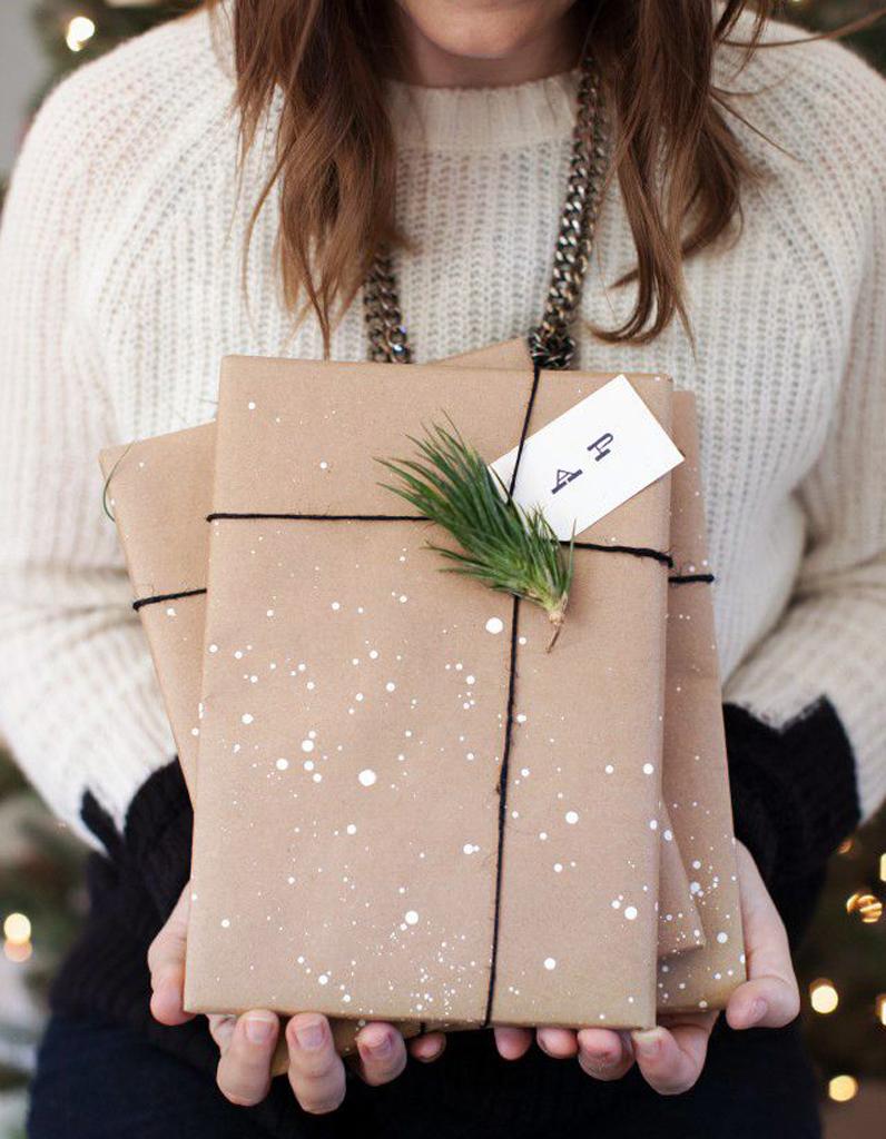 Faire de jolies paquets cadeaux