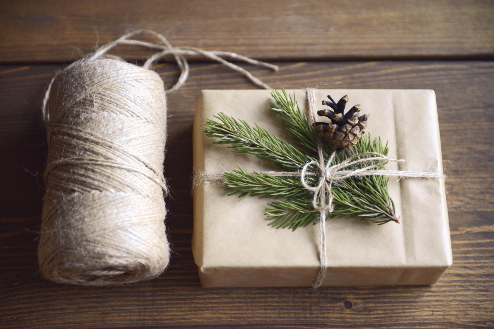 Idée emballage cadeau NOEL