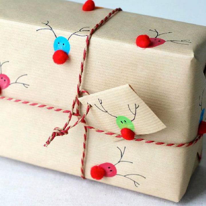Emballer un cadeau original