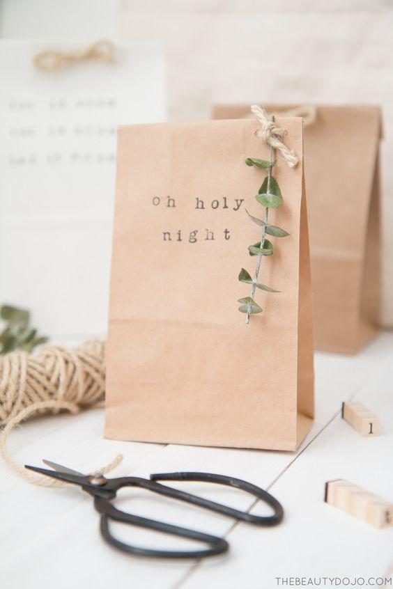 Idée papier cadeau