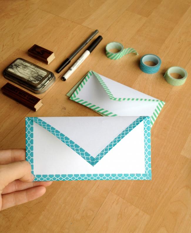 Enveloppe Masking tape