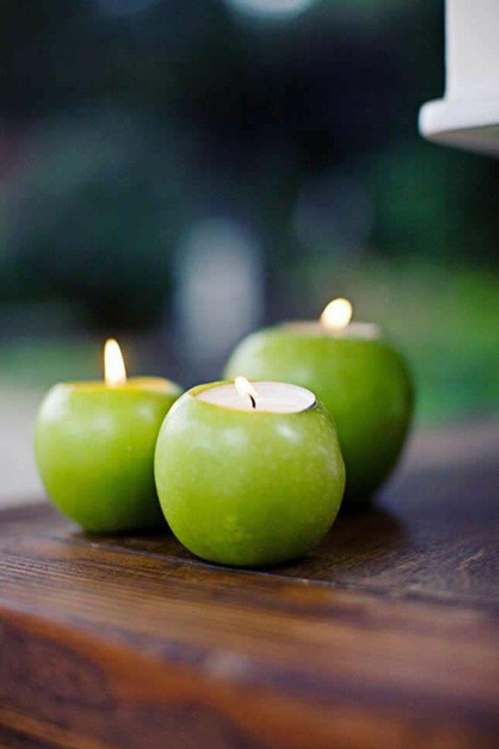 Pomme verte décoration