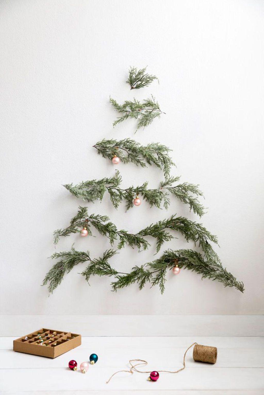 Deco De Noel Originale 20 idées déco à réaliser avec des branches de sapin