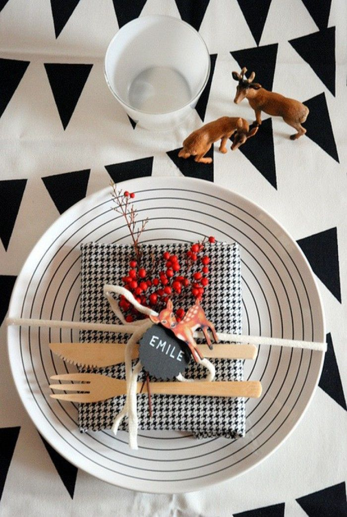 TABLE DE NOEL A FAIRE SOI MEME