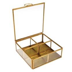 boite à bijoux 4 compartiments