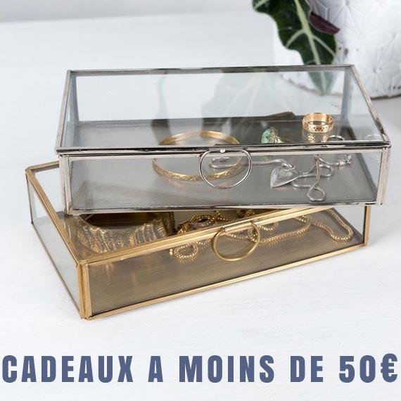 cadeaux à moins de 50 euros
