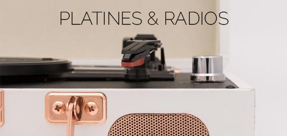 platines & radios