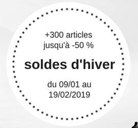 soldes d'hiver 2019
