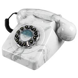téléphone vintage marbre
