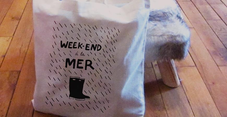 Les tote-bags Hindbag disponibles chez Bonjour Bibiche !