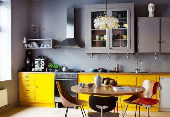 Ma cuisine jaune