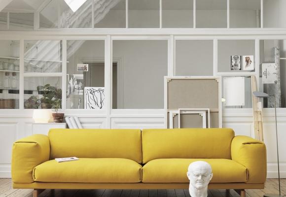 Mon salon jaune