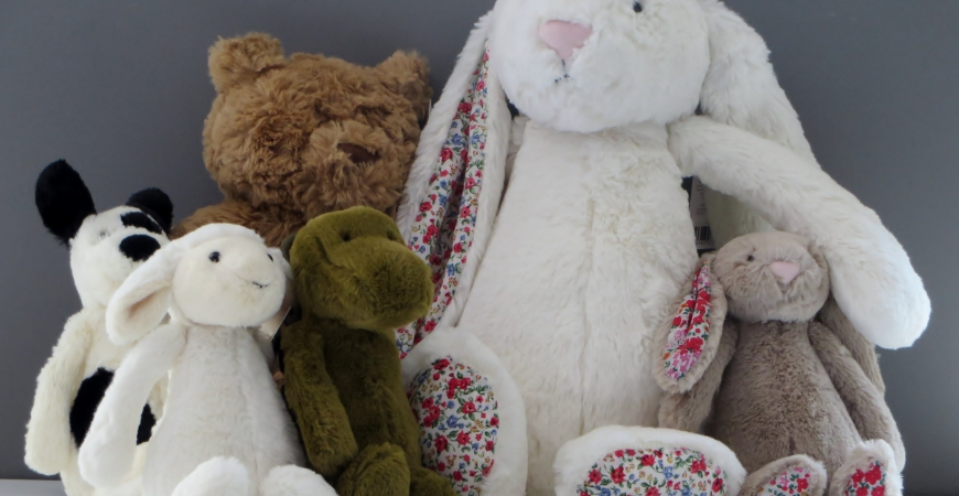 Doudou Star : le shooting photo des peluches Jellycat