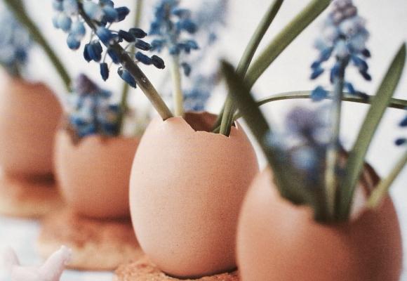 Déco de Pâques : les œufs ont la côte-côte !