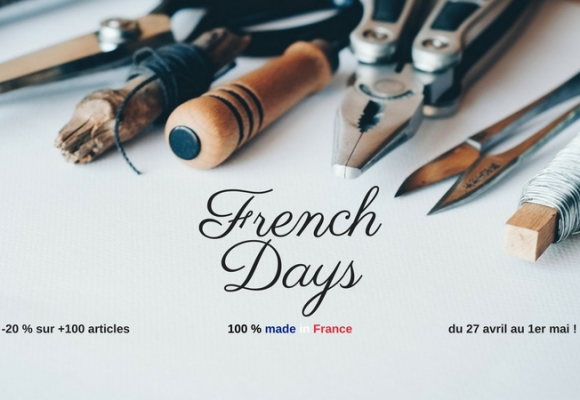 Les French Days 100 % made in France de Bonjour Bibiche