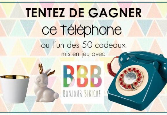 Un téléphone vintage à gagner sur Deco.fr !