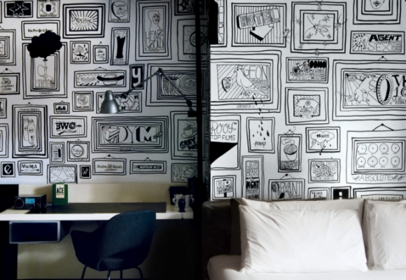 Le mur galerie, tendance déco 2015